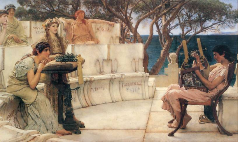 sappho and alcaeus 18811